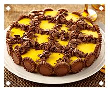 Torta de Manga e Chocolate