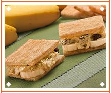 Sanduíche de Frango ao Curry