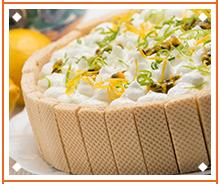 Torta Gelada Limão e Maracujá