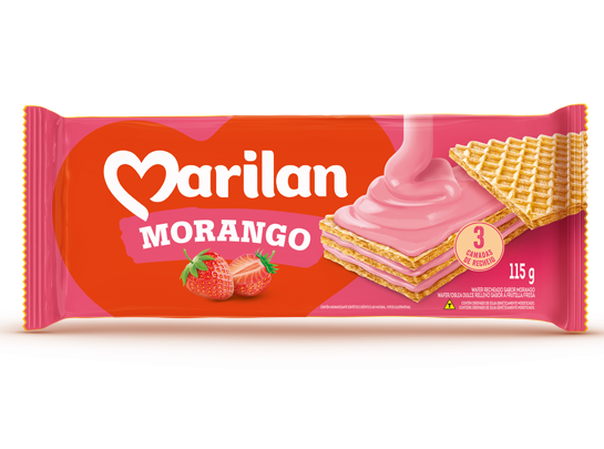 wafer-morango