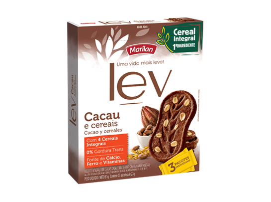 Biscoitos Integrais Lev